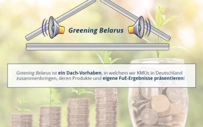 """""""Greening Belarus"""" – Umweltschutz made in Germany / Export grüner und nachhaltiger Umweltinfrastruktur Interview mit Dr. Christian Abendroth, Referent zum 19. Mitteldeutschen Energiegespräch (digital)"""