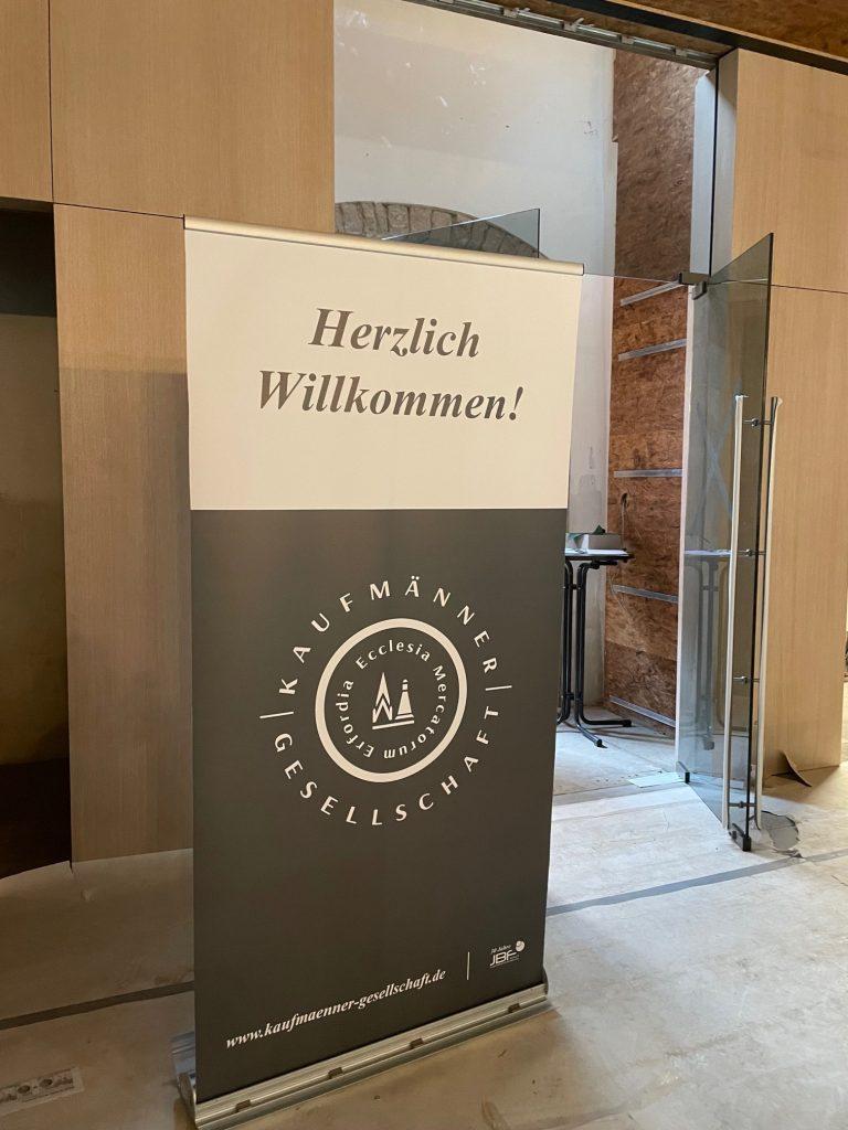 """Erfolgreicher Start der Erfurter Reden zu Zukunftsfragen mit Peer Steinbrück""""Parlament der Generationen – Brauchen wir neue Formen der Demokratie?""""Generationengerechtigkeit in Zeiten von Corona, Klimawandel und künftiger Rentenformel"""